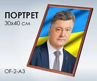 Світогляд Портрет Президента України А3 Петро Порошенко 13104068У