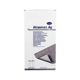 Atrauman Ag 10х20см - атравматична пов'язка зі сріблом, стерильна