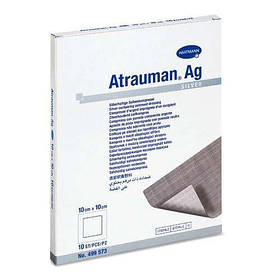 Atrauman Ag 10х10см - атравматична пов'язка зі сріблом,