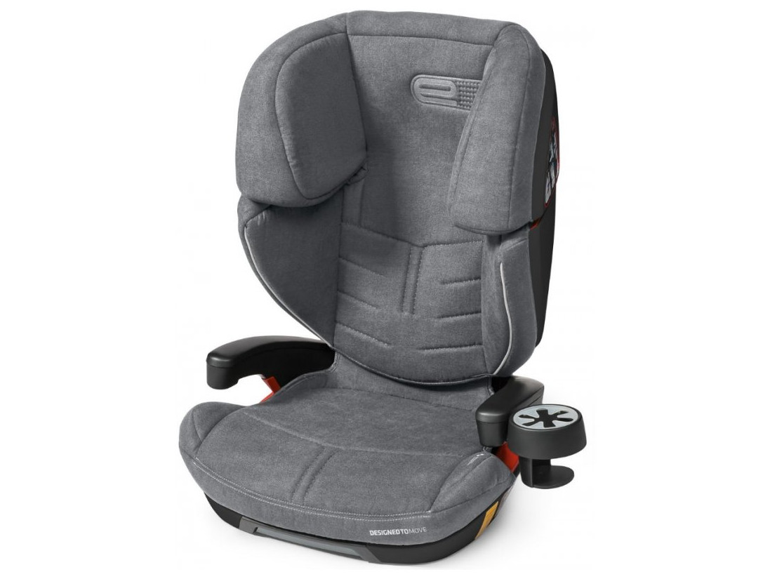 Автокресло ESPIRO OMEGA FX 2019 07 GRAY&SILVER
