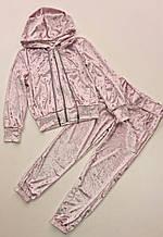 Детский велюровый спортивный костюм р.122-134