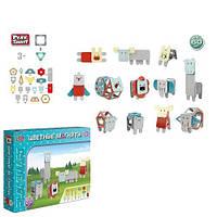"""98793 [2469] Конструктор магнітний 2469 (12/2) """"Play Smart"""", """"Тварини"""", 60 деталей, в коробці [Коробка]"""