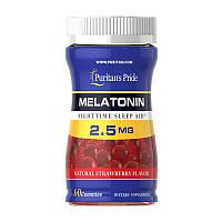 Мелатонин Puritan's Pride Melatonin 2.5 мг 60 жев.конфеты Фирменный товар! (113909)