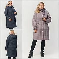 """Жіноче демісезонне плащ-пальто зі зйомним капюшоном ArDi """"Жаклін"""""""