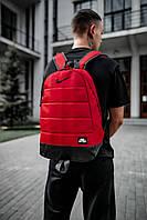 Городской рюкзак в стиле Nike, синий Красный