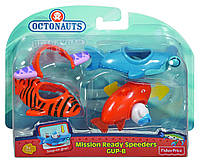 "Игрушки ""Октонавты"" Fisher-Price Octonauts Mission Ready Gup Speeders Gup-B, фото 1"