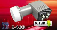 Конвертор спутниковый Satcom Quad Universal LNB S-403