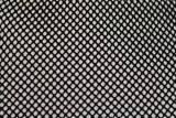 Ткань сетка стрейчевая черная
