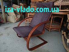 Крісло-гойдалка «Жаба» з круглими підлокітниками, фото 3