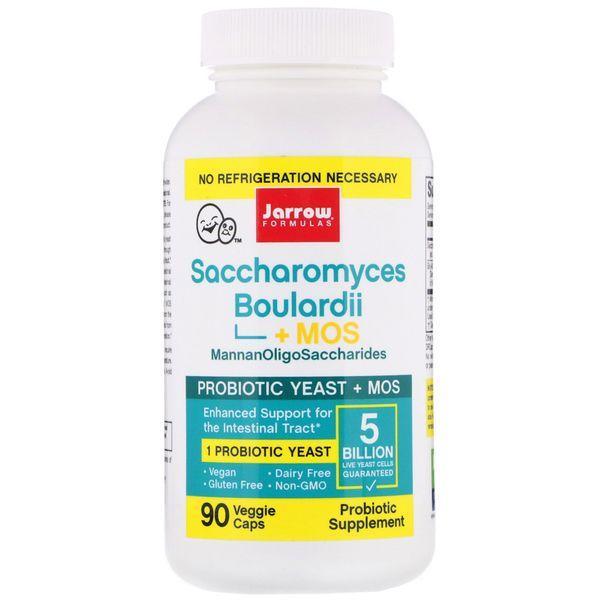Комплекс Пробиотиков Сахаромицеты Буларди Jarrow Formulas Saccharomyces Boulardii plus MOS 90 капсул Оригинал!