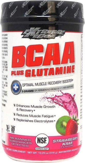 BCAA з Глютаміном Bluebonnet Nutrition Extreme Edge BCAA + Glutamine Powder 375 г Оригінал! (344720)