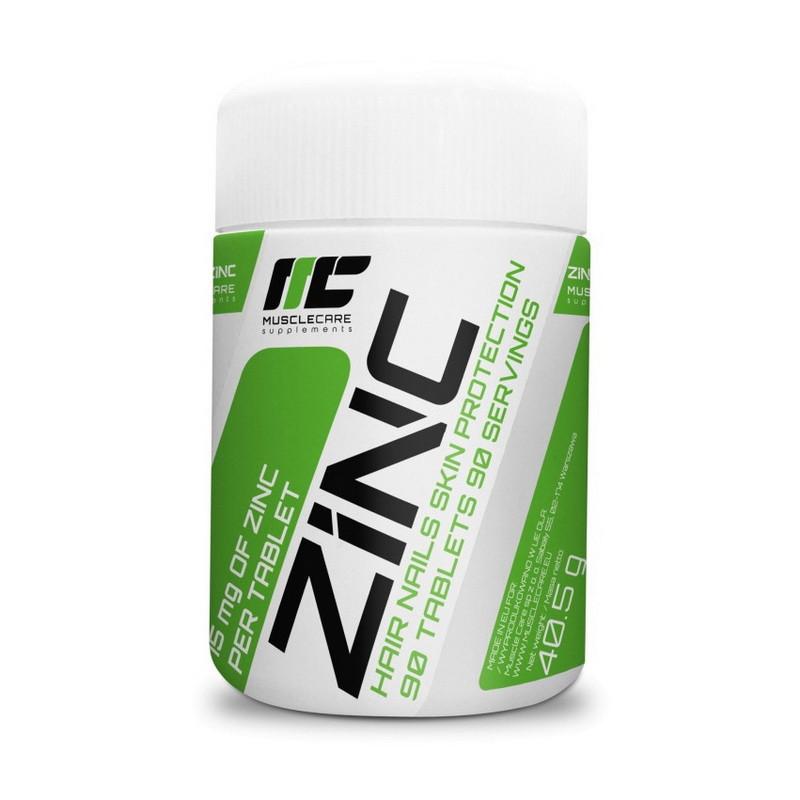 Витамины и минералы Muscle Care Zinc 90 таб Оригинал! (345677)