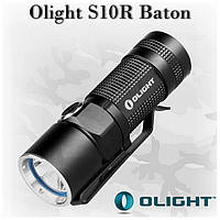 Olight S10R Baton, аккумулятор и док-станция в комплекте