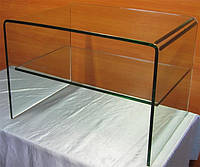 П-образные столы из стекла. Изготовление