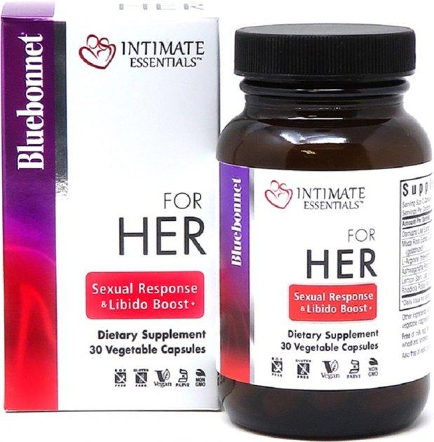 Комплекс Для Неї Bluebonnet Nutrition Intimate Essentials For Her Sexual Response And Libido Boost 30 капс