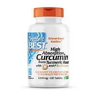 Куркумин Doctor's BEST Curcumin from Turmeric Root 1000 мг 120 таб Оригинал! (345853)