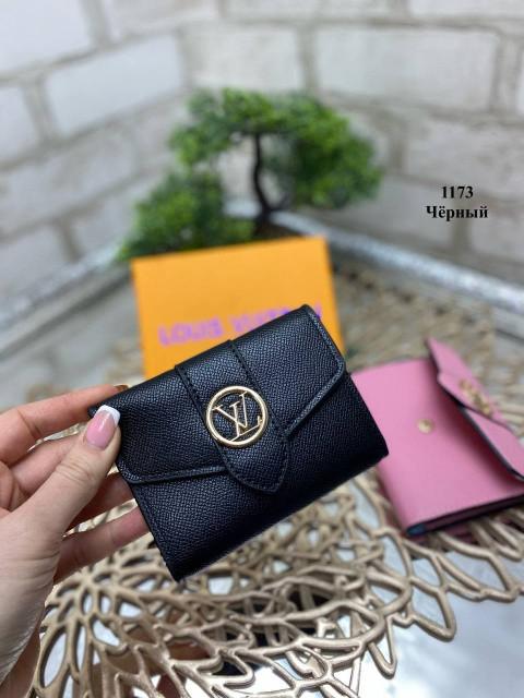 Черный - кошелек Louis Vuitton в фирменной коробке (1173) - 1 шт.