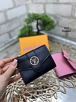 Черный - кошелек Louis Vuitton в фирменной коробке (1173) - 1 шт., фото 1