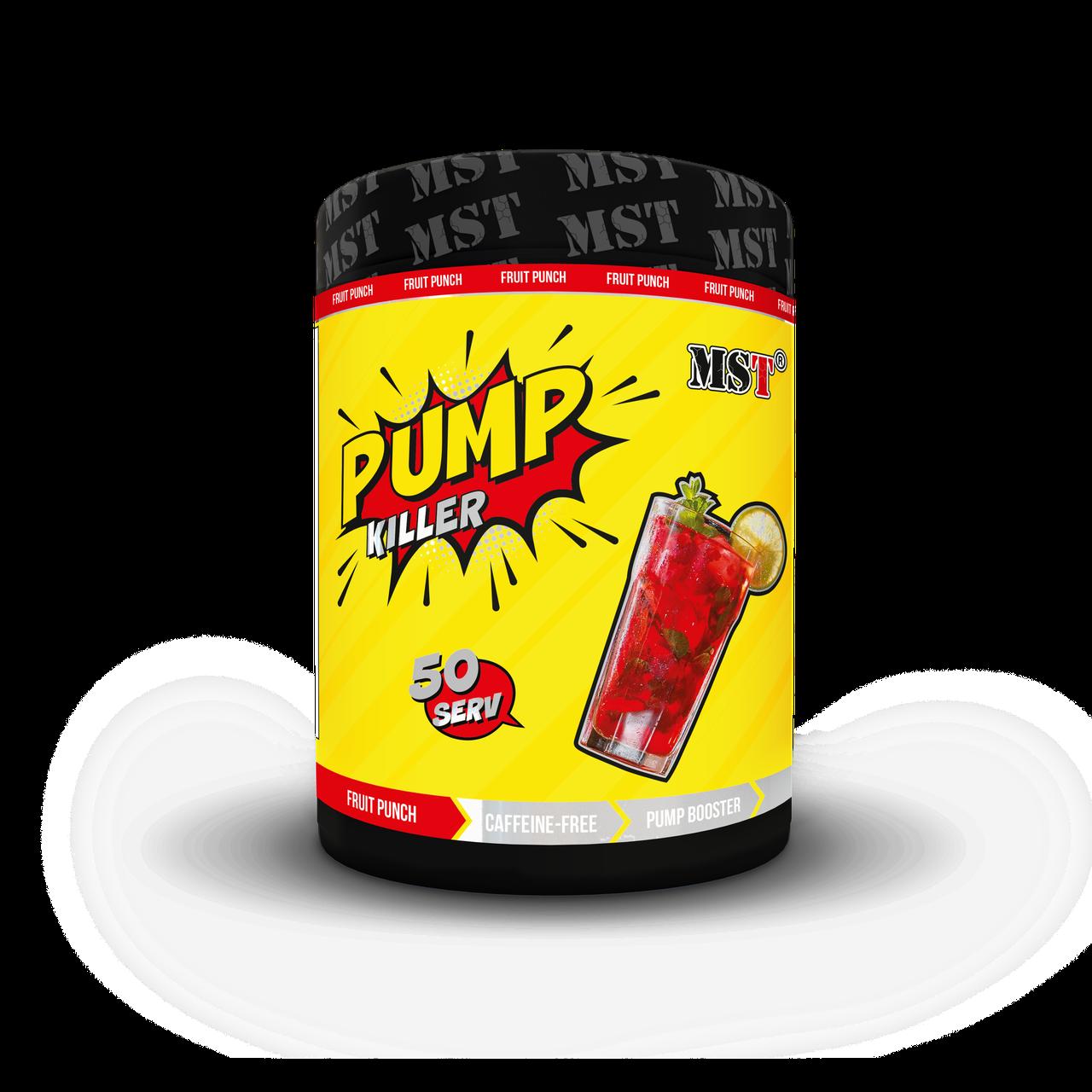 Предтренировочний комплекс MST Nutrition Pump Killer 550 г Оригінал! (345943)