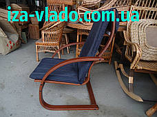 Крісло-жаба (пружина) з овальними підлокітниками, фото 2