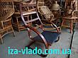 Крісло-жаба (пружина) з овальними підлокітниками, фото 5