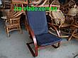 Крісло-жаба (пружина) з овальними підлокітниками, фото 4