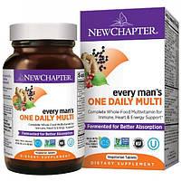 Щоденні Мультивітаміни Для Чоловіків New Chapter Every One man's Daily Whole Food Multivitamin 24 таблеток