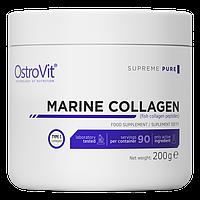 Для суставов и связок Ostrovit Collagen Marine 200 г Оригинал! (346202)