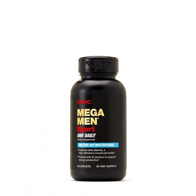 Вітаміни і мінерали GNC Mega Men Sport One Daily 60 капс Оригінал! (345395)