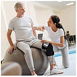 Электрический Вибро массажер многофункциональный бандаж для суставов с функцией прогрева, фото 4