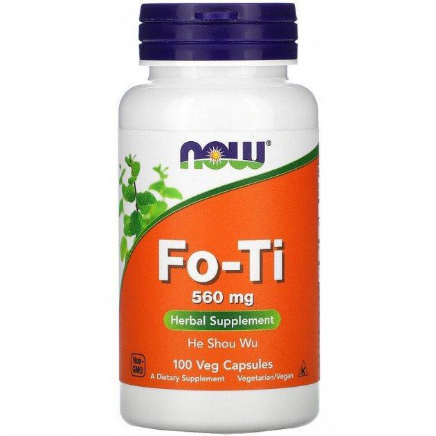 Горець багатоквітковий Now Foods Fo-560 Ti 100 мг вег.капс Оригінал! (345517)