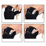Электрический Вибро массажер многофункциональный бандаж для суставов с функцией прогрева, фото 7