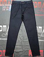 """Брюки мужские чинос на молнии, пояс на шнурке, размеры 29-36 """"RESERVED MAN"""" недорого от прямого поставщика"""