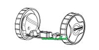 Колесики комплект для мотоножниц аккумуляторных GARDENA