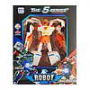 """Дитячий робот-трансформер BW339 """"ТОБОТ"""" пластиковий (Оранжево-білий )"""