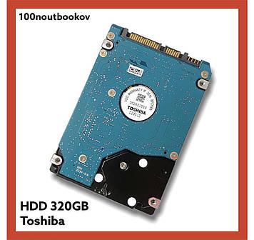 Жесткий диск TOSHIBA SLIM 320GB для ноутбука pn: cp520784-01 5400rpm 2.5 SATA3 HDD винчестер БУ