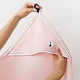 """Вафельное полотенце """"Wafel"""", розовое, фото 3"""