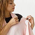 """Вафельное полотенце """"Wafel"""", розовое, фото 6"""