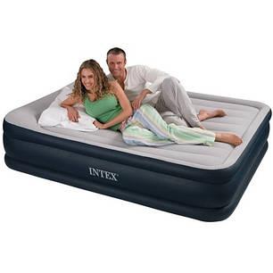 Надувной матрас кровать  Intex 67736 (152-203-48см), фото 2