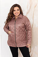 """Куртка жіноча Розміри: 48-50,52-54,56-58,60-62 """"VIKA"""" недорого від прямого постачальника idm908994"""