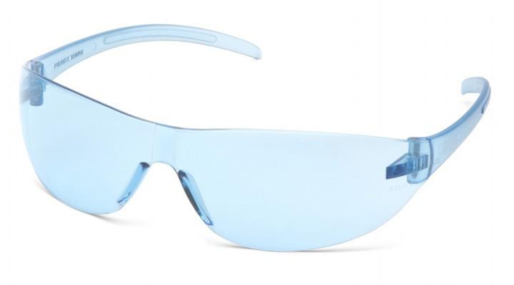 Очки защитные открытые Pyramex ALAIR (infinity blue) голубые