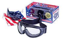 Окуляри захисні з ущільнювачем Global Vision ALL-STAR (Anti-Fog) KIT змінні лінзи