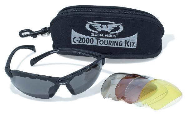 Очки защитные со сменными линзами Global Vision C-2000 KIT сменные линзы