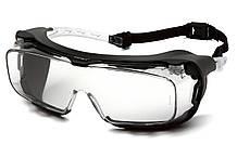Очки защитные с уплотнителем Pyramex CAPPTURE-Plus (clear) прозрачные