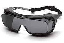 Очки защитные с уплотнителем Pyramex CAPPTURE-Plus (gray) серые