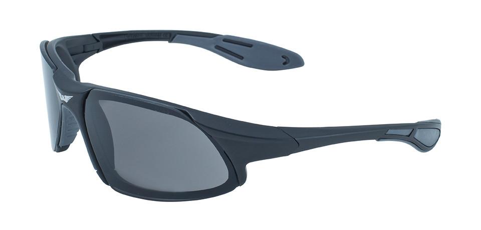 Окуляри захисні відкриті Global Vision CODE-8 (gray) сірі