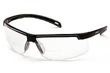 Бифокальные защитные очки Pyramex EVER-LITE Bif (+2.5) (clear) прозрачные