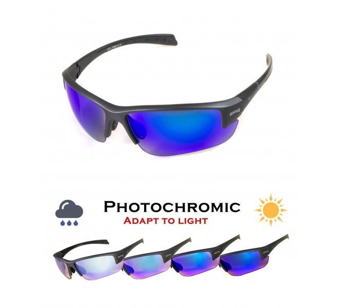 Окуляри захисні фотохромні Global Vision Hercules-7 Photo. (Anti-Fog) (G-Tech™ blue) фотохромні сині