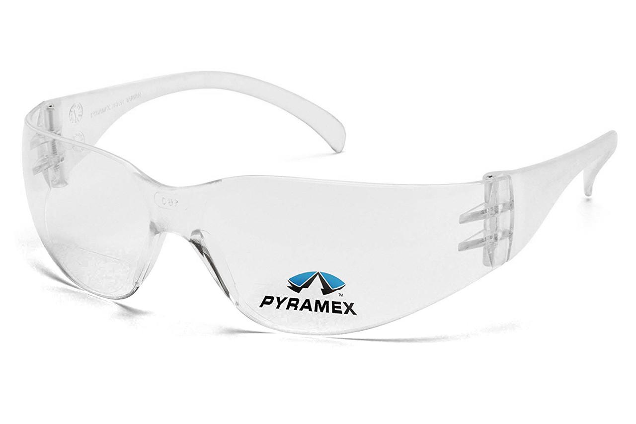 Бифокальные защитные очки Pyramex INTRUDER Bif (+2.0) (clear) прозрачные