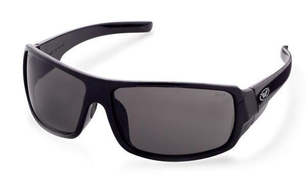 Очки защитные открытые Global Vision ITALIANO (gray) серые